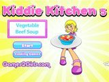 Kiddies Kitchen 5 : Vegetable Beef Soup - Juegos de cocinar arepas